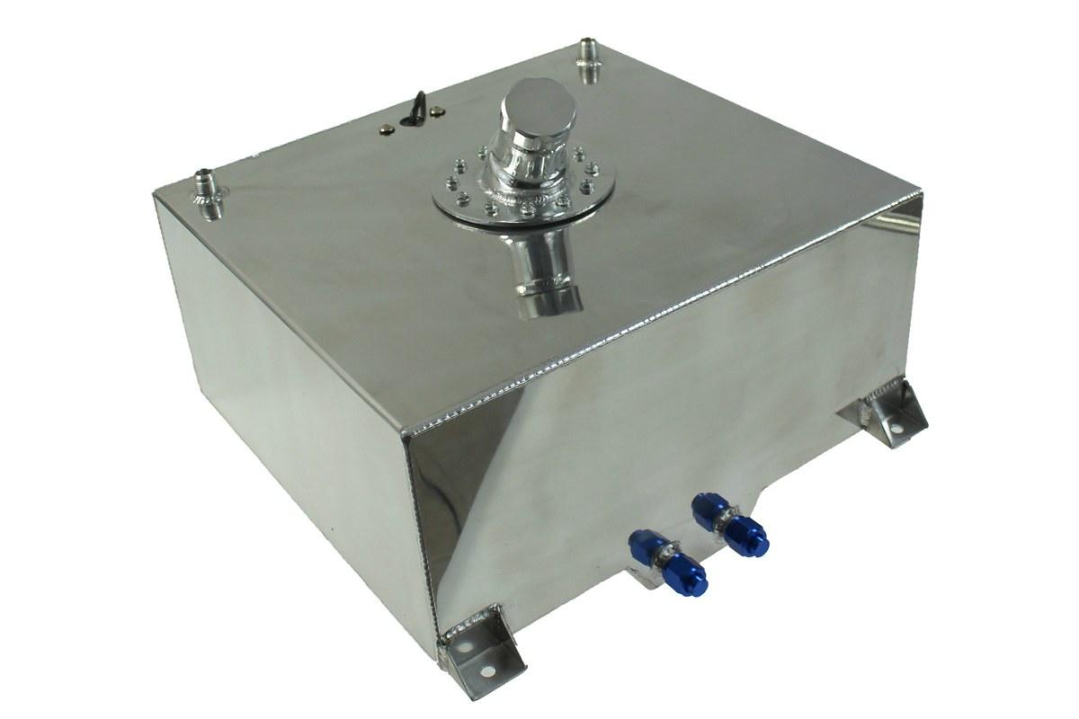Zbiornik Paliwa TurboWorks 50L z wlewem paliwa i czujnikiem - GRUBYGARAGE - Sklep Tuningowy
